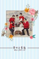 爱的全家福(照片可换SJ)-8x12双面水晶印刷照片书20p
