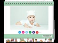我的童年多彩生活(照片可换8HD台历)-8寸单面印刷台历