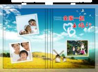 全家一起去旅行全家福美好时光纪念-硬壳精装照片书20p