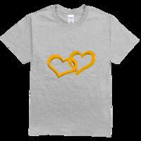 心心相印高档彩色T恤