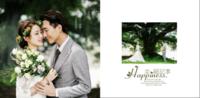 幸福记事(写真、爱情、旅行、亲子、婚纱、闺蜜)首图可换-麦田款照片书