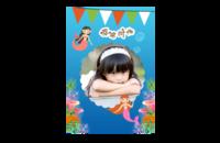 幸福时光-8x12印刷单面水晶照片书21p