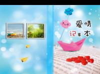 幸福笔记(恋爱青春校园)-A4硬壳精装照片书30p