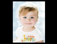 生日快乐(图片可换、装饰可移动)-32寸木版画竖款
