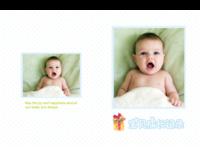 (超萌、超可爱风)宝贝成长记录-硬壳精装照片书30p
