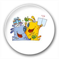 可爱卡通-4.4个性徽章