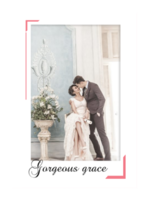 最美丽的遇见(封面封底及内页图片可替换)-A4杂志册(36P)
