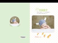 时间盒子-亲子 儿童 宝宝 百天 周岁纪念相册-A4硬壳照片书34p