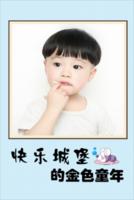 快乐城堡的金色童年(照片可换SJ)-8x12双面水晶银盐照片书20p