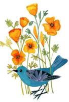 大自然笔记  小鸟-定制lomo卡套装(25张)