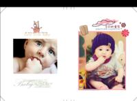 儿童宝宝亲子简洁大气精装照片书-8x12对裱特种纸20p