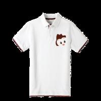 可爱小猴子-AUGUS卡通-双拼POLO衫