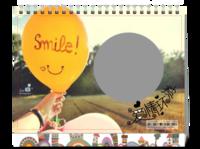 爱情环游-快乐旅行-8寸单面印刷台历