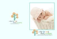 韩式韩版宝宝成熟韩版儿童照片书宝贝成长记2.21(图可换)-高档纪念册豪华版