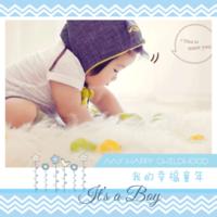 我的幸福童年 My happy childhood-8x8双面水晶印刷照片书20p