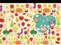 可爱宝贝-萌萌的小卡通-萌宝贝-硬壳精装照片书22p