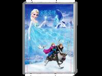 冰雪奇缘--随它吧(动画 电影 卡通)-A4时尚杂志册(24p)