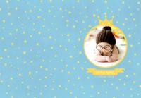 我家的小天使-小小的你是最闪亮的星-B5定制胶装道林笔记本