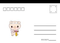 小猪-全景明信片(横款)套装