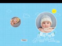 宝贝的成长档案#-8x12对裱特种纸30p套装