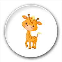 长颈鹿-7.5个性徽章
