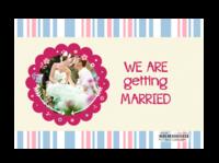 我们结婚啦-亚克力台历(7页有框)