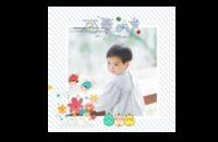 我的可爱的童年#-8x8印刷单面水晶照片书21P