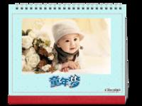 童年梦-萌娃-亲子-照片可替换-10寸单面印刷台历