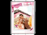 我们最好的爱·婚礼旅行情侣纪念-A4时尚杂志册(26p)