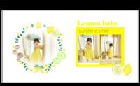 《通用模板》甜蜜柠檬(亲子,写真。)-8X8锁线硬壳精装照片书24p