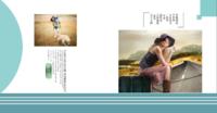 美好的风景在路上(封面图片可替换)-方8硬壳照片书40p