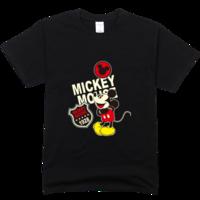 米老鼠舒适彩色T恤