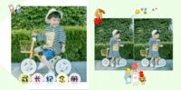 成长纪念册(亲子、卡通、萌娃、男女通用、照片可换)-8x8PU照片书NewLife