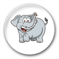 大象-3.2个性徽章