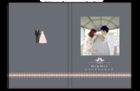 与你从青丝走到白发-爱情 情侣 婚纱 婚礼纪念-8x12高清银盐照片书