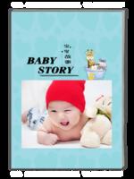 宝贝故事-萌娃-亲子-照片可替换-A4杂志册(40P)