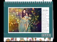 欢乐一家亲(封面及内页图片可替换)-8寸单面印刷台历