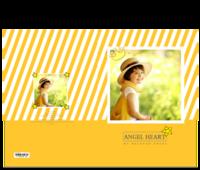 心爱小天使-亲子-宝贝-童年成长-15寸硬壳蝴蝶装照片书24p