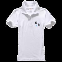 青春-女款纯色POLO衫