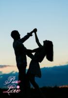 纯洁的爱-高端欧美风-爱情、婚纱、情人节(装饰可移动、图片可换)-B2单面竖款印刷海报