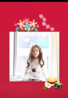 快乐的童年-A3单月跨年挂历