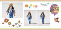 幸福宝贝(图片可换)可爱亲子卡通-8x8PU照片书NewLife(绒照片纸)