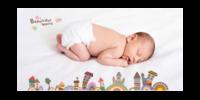 萌宝成长记 童年的美好纪念beautiful world 美丽世界-15x30cm拉菲版画 横款
