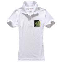 时尚潮流 图案-女款纯色POLO衫