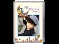 我的美丽世界 儿童  萌娃  宝贝 纪念  照片可替换-A4时尚杂志册(24p)