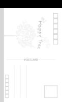 happy tree 幸福树1 幸福爱情时光纪念-长方留白明信片(竖款)套装