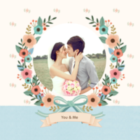 爱的花嫁-照片可替换-8x8双面水晶银盐照片书32p