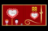 幸福花嫁-6*6照片书