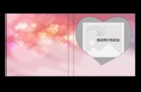浪漫爱情水彩照片书-6*6照片书