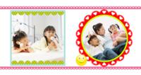 幸福一家人(翻开里面更精美)-方8寸硬壳照片书